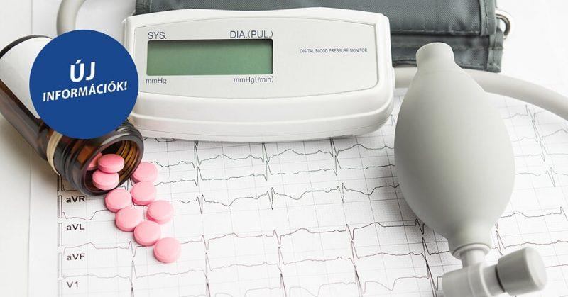 Újabb információk a valsartan hatóanyag tartalmú vérnyomáscsökkentőkről