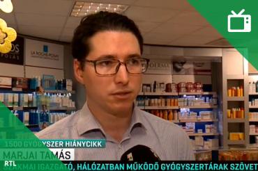 RTL Klub: Csaknem 1500 gyógyszer hiánycikk az országban
